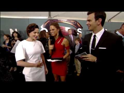Interview with Antje Traue at the World Premiere of Man of Steel at New York City's Alice Tully Hall