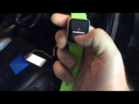 Conrod - Control your VW or Audi from your Apple Watch