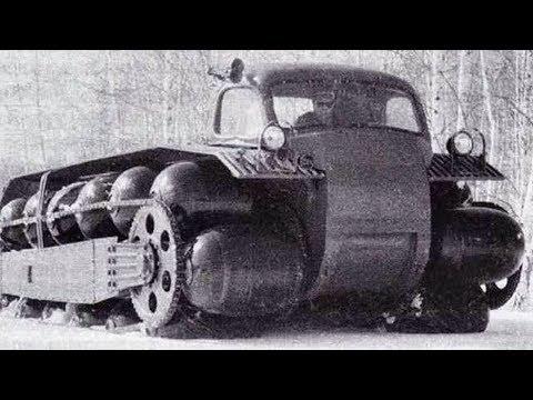 Секретный ЗИЛ ПКЦ-1 на пневмокатках - уникальный вездеход СССР