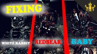 ⭐️Five Nights at Freddy's VR Help Wanted - Fixing Redbear Baby White Rabbit part 1| Bertbert⭐️