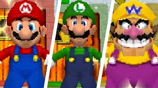 Super Mario 64 DS - How to Unlock All Characters