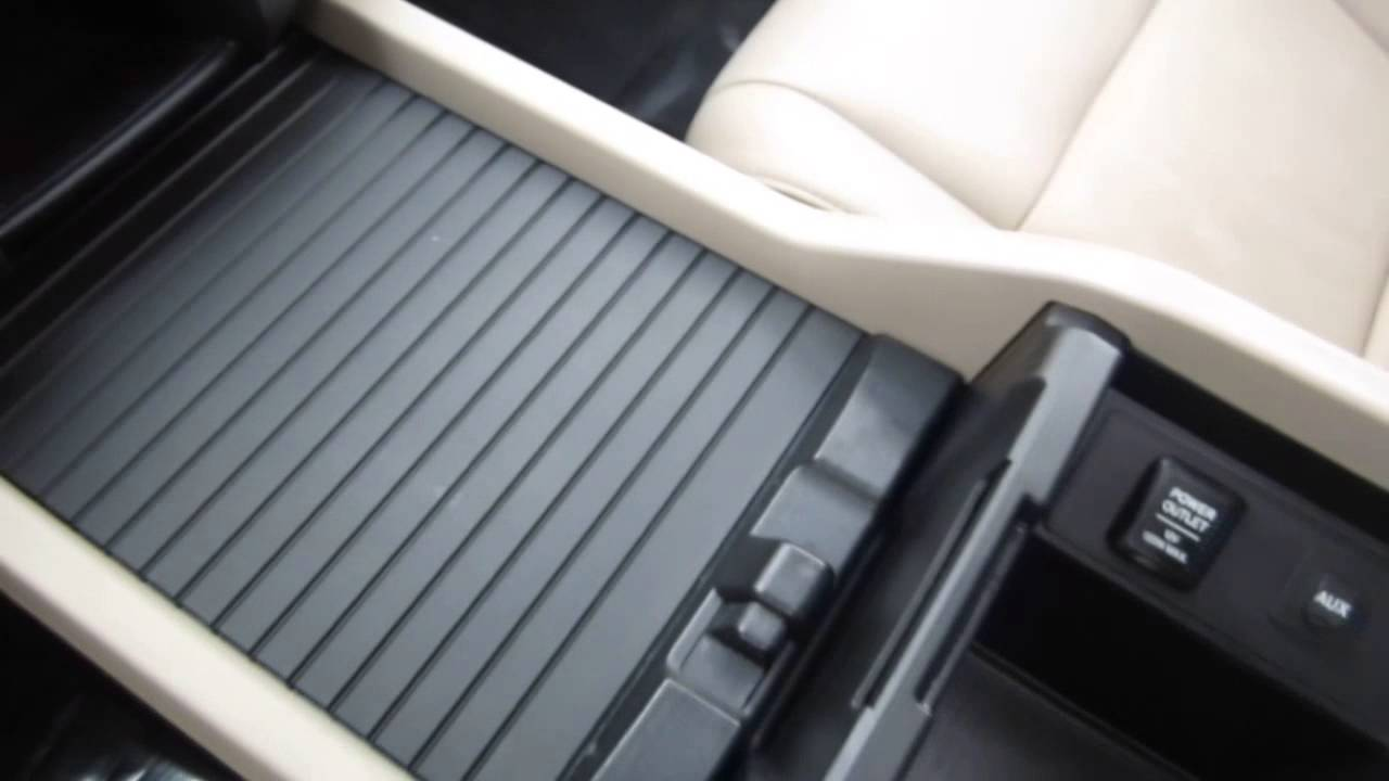 2009 Honda Pilot Gray Stock B2408 Center Console