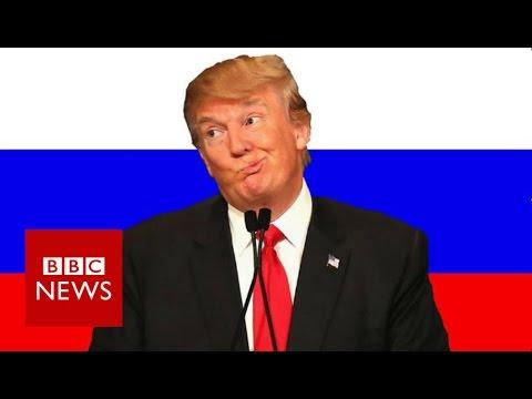 Why Russians love Donald Trump - BBC News