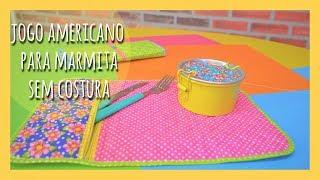 Jogo Americano Para Marmita – Sem Costura