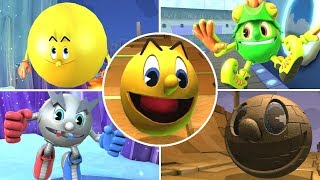 All Pac-Man Transformations in Pac-Man and the Ghostly Adventures