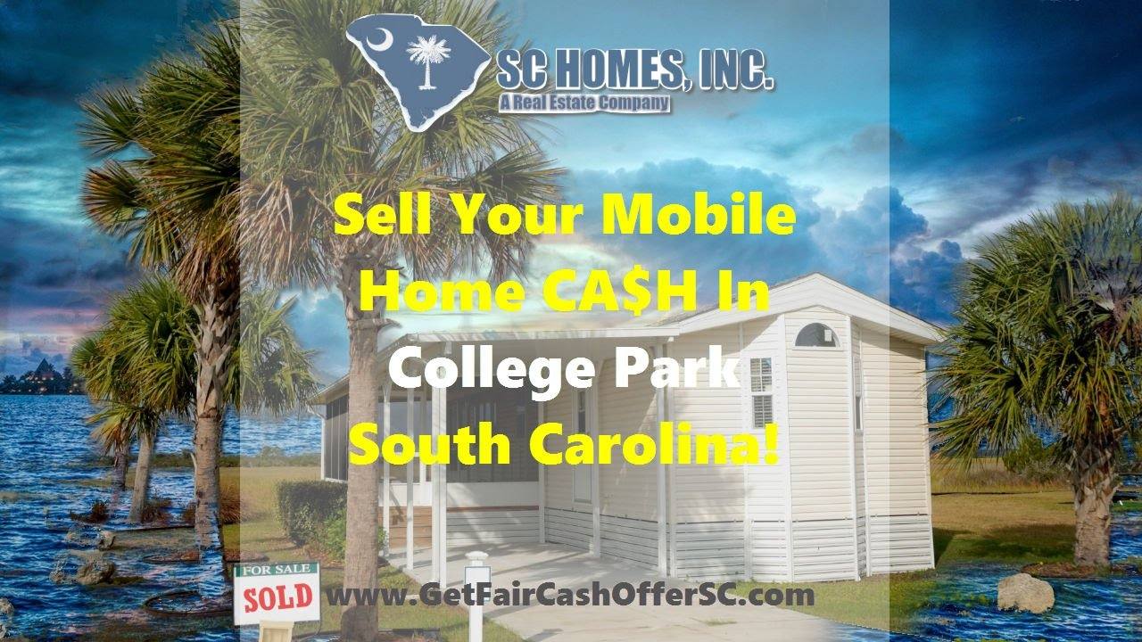 we buy mobile homes college park sc