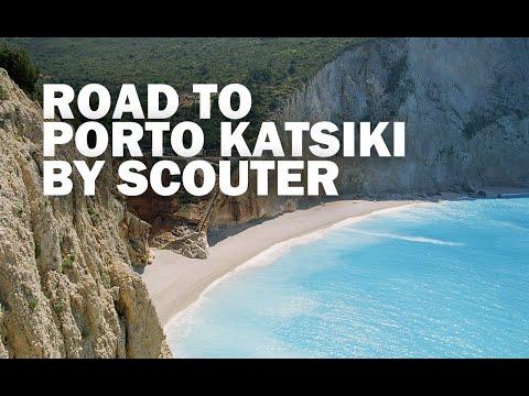 Lefkada Road to Porto Katsiki beach