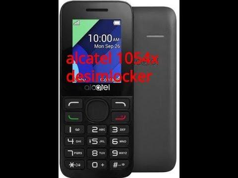 ALCATEL 1054X desimlocker  how to unlock