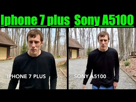 SONY A5100 VIDEO TEST VS IPHONE 7 PLUS VIDEO TEST | Extra footage with the Sony a5100!