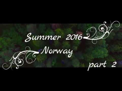 Norway Summer Relaxing video. (Part 2) bærum.