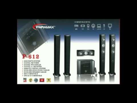 Paramax Audio, Paramax Audio home theaters, Paramax Audio S
