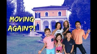 We are MOVING to EUROPE - Rome House Tour!