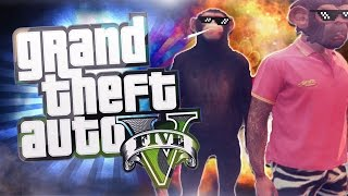 "GTA 5 GLITCHES - MONKEY GONE WILD ""GTA 5 Funny Moments"""