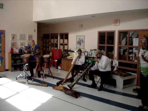 Didgeridoo & Drums Presentation at Annsworth Academy 2012 - Video Three