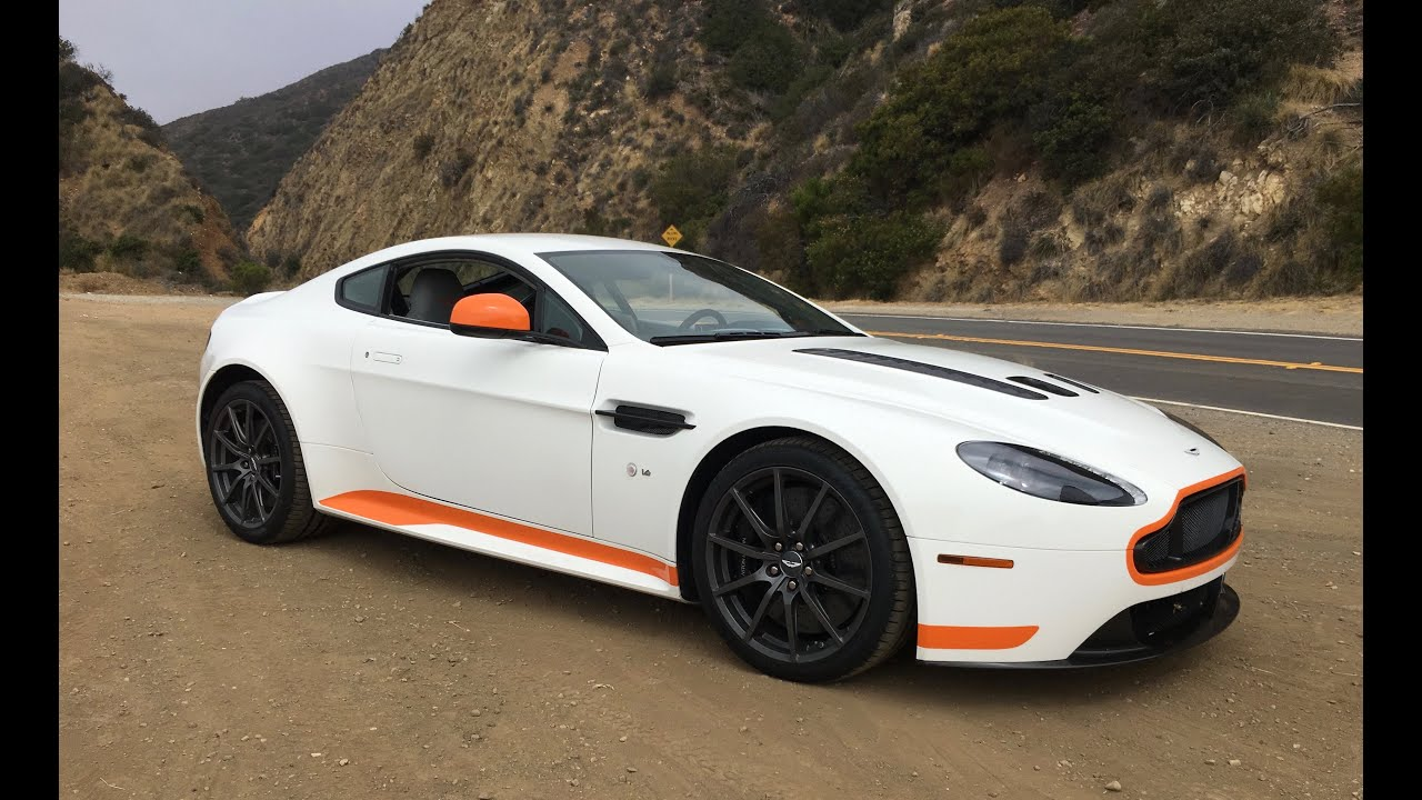 Aston Martin V Vantage S Manual One Take YouTube - Aston martin vantage v12
