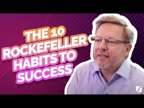 The 10 Rockefeller Habits To Success
