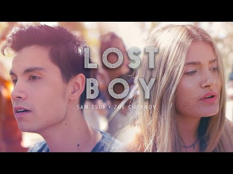 Lost Boy (Ruth B) - Sam Tsui & Zoe Rose acoustic cover