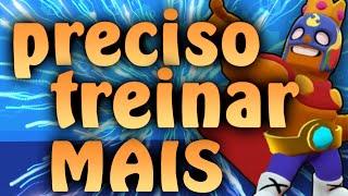 BRAWL STARS- PERDI MINHA NOÇÃO DE JOGO!!