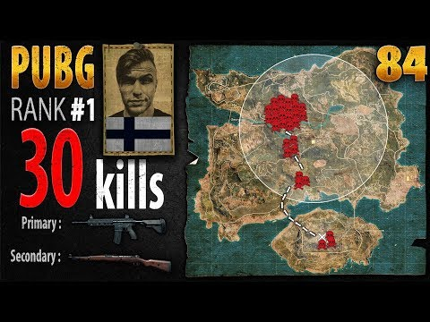 PUBG Rank 1 - AndyPyro 30 kills [NA] SQUAD - PLAYERUNKNOWN'S BATTLEGROUNDS #84