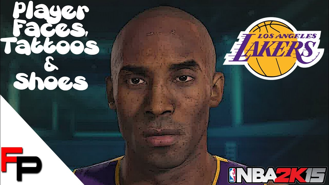 Nba 2k15 ps4 los angeles lakers player faces for La lakers tattoo