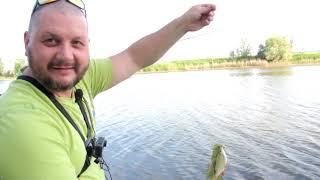 Рыбалка на озере на фидер Отдых у воды