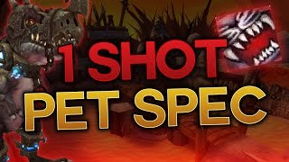 1 SHOT PET Build - BM Hunter WoW Legion