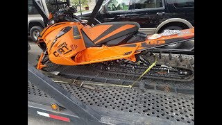 new sled for the 2019 season KING CAT will it run ?...