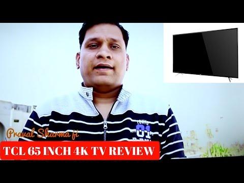 Hindi | TCL L65P1US 4K Ultra HD SmartTV Review | Sharmaji Technical