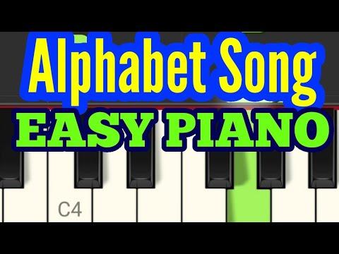 Alphabet Song (ABC Song) - Easy Piano