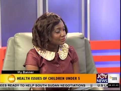 Staff of World Vision Ghana talks about the CHN/Global Week of Action on Joy News (Multi TV)