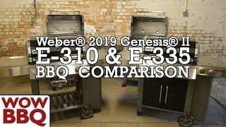 Compare Weber® Genesis® II 3 Burner Gas BBQs