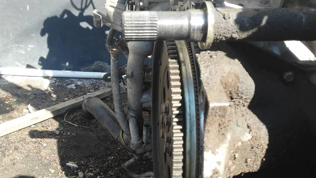 как снять гидротрансформатор на Nissan Maxima