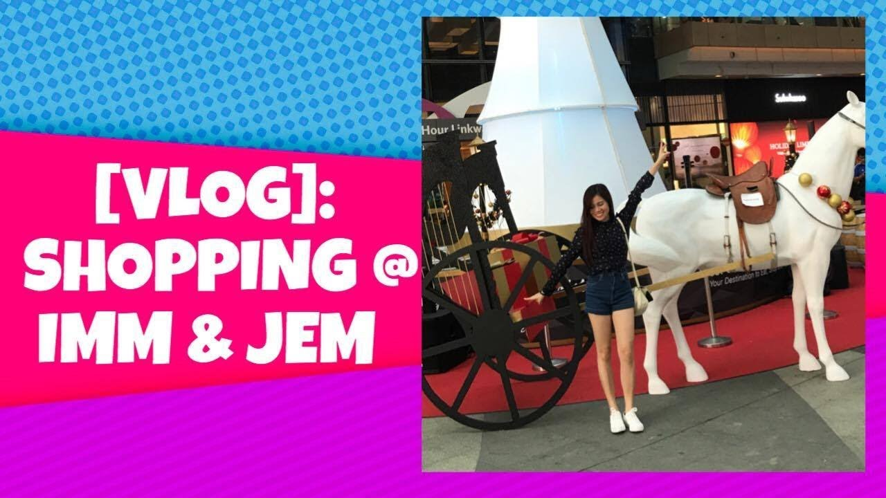 3cc87f73b533 VLOG  Shopping at IMM Outlet Mall    JEM - SINGAPORE - YouTube