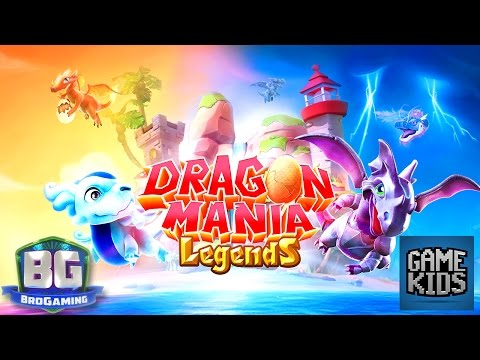 Dragon Mania Legends Gameplay Part 1 - Bro Gaming