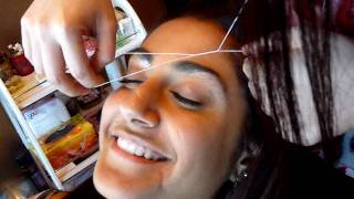 Brow threading on the Gold Coast with Lotus Beauty Lounge