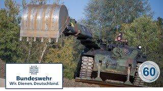 60 Sekunden Bundeswehr: Pionierpanzer Dachs