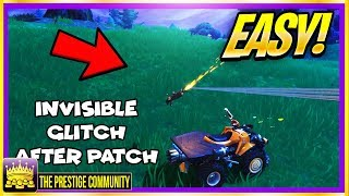 How To Be FULLY INVISIBLE In Fortnite! *SUPER EASY* Character Invisibility Glitch (Ps4/Xbox One/PC)