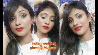 Indian party makeup || instant 10 min glowing makeup ||shy styles