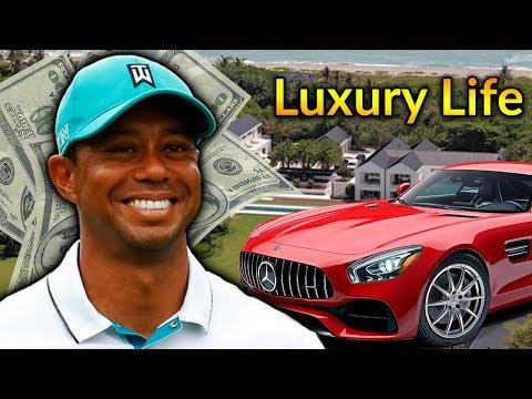 Tiger Woods  Luxury Lifestyle   Bio, Family, Net Worth, Earning, House, Jet, Yacht, Cars