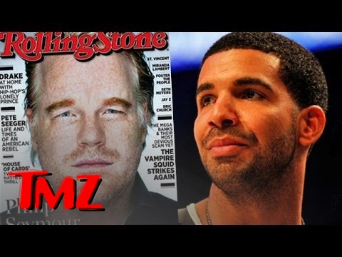 Drake DISSES Philip Seymour Hoffman!  TMZ