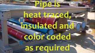 Industrial Pipe Racks And Process Piping Design