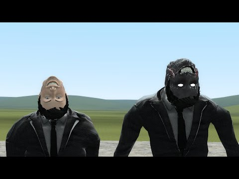 Download NEW MAN WITH THE UPSIDEDOWN FACE!!!! (Trevor Henderson Mod Pack) - GMod