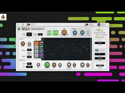 Quad Note Generator | Player Device | Shop | Propellerhead