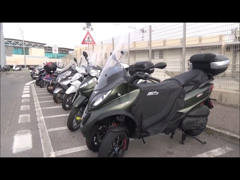 scooters in Italy (airport parking) + going to Taiwan