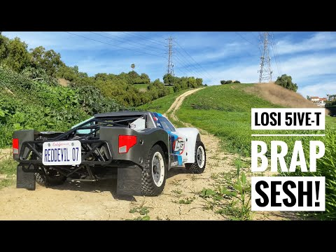 LOSI 5ive-T OFF-ROAD BASH SESSION In Southern California - Smith RC Studios