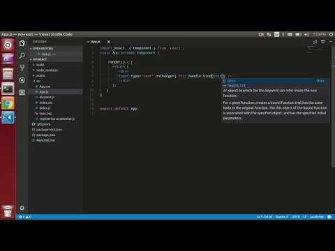 React Js tutorial # 7 how to get input fields data