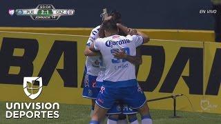Puebla cobró su 'vale por una cruzazuleada' y le metió el 2-1 a Cruz Azul