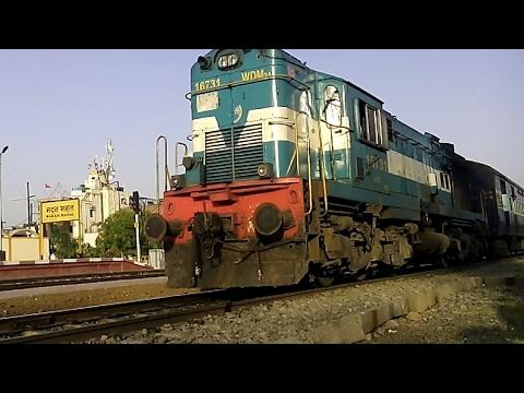 51672 - KATNI - ITARSI Fast Passenger (UnReserved) With WDM 3A Locomotive| Indian Railways
