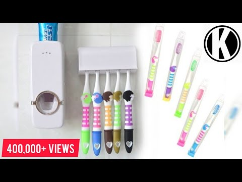 Automatic Toothpaste Dispenser | UNBOXING | REVIEW