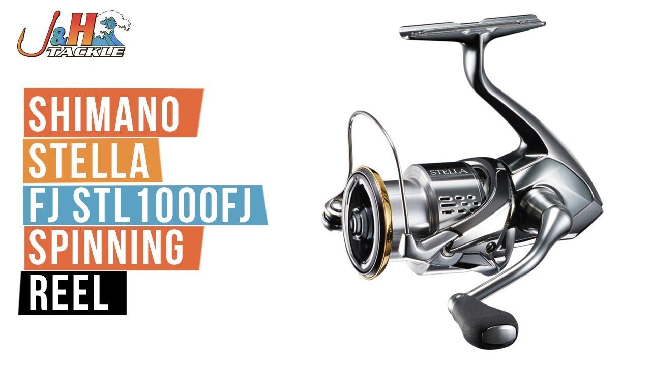 Shimano Stella FJ STL1000FJ Spinning Reel | J&H Tackle